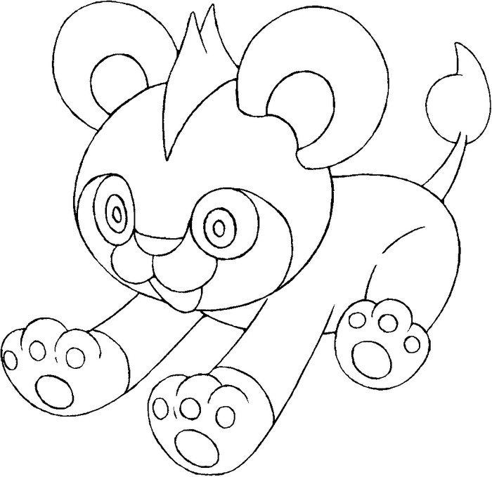 coloriage pokemon Hélionceau