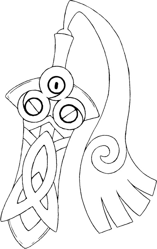 coloriage pokemon Monorpale