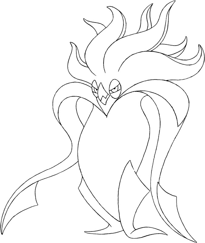coloriage pokemon Sepiatroce