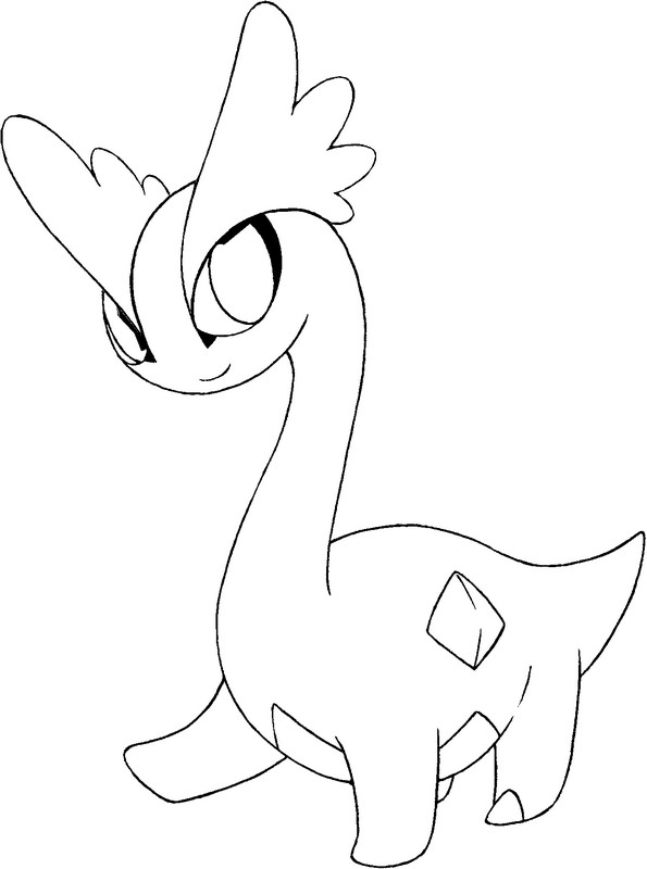 coloriage pokemon Amagara
