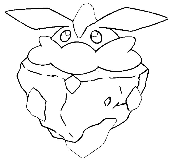 coloriage pokemon Strassie