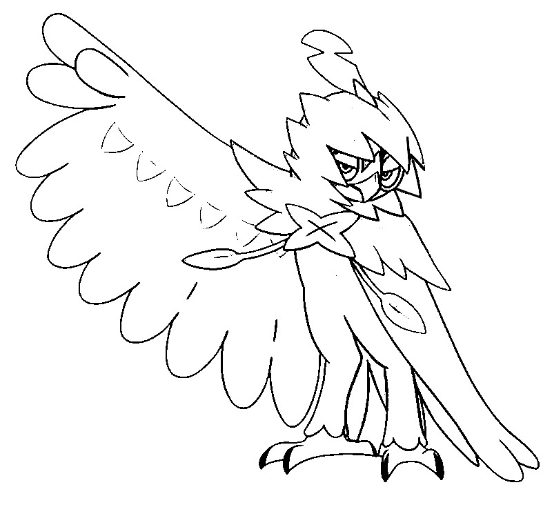 coloriage pokemon Archéduc