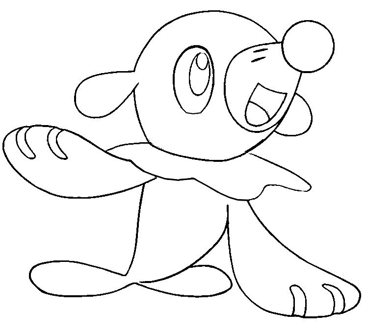 coloriage pokemon Otaquin