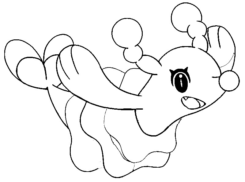 coloriage pokemon Otarlette