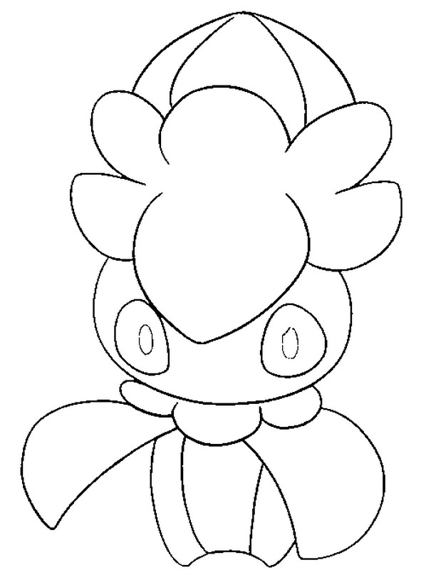 coloriage pokemon Mimantis