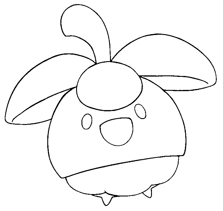 coloriage pokemon Croquine