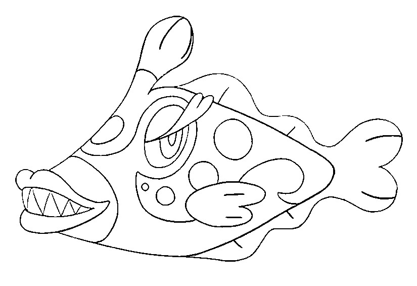 coloriage pokemon Denticrisse