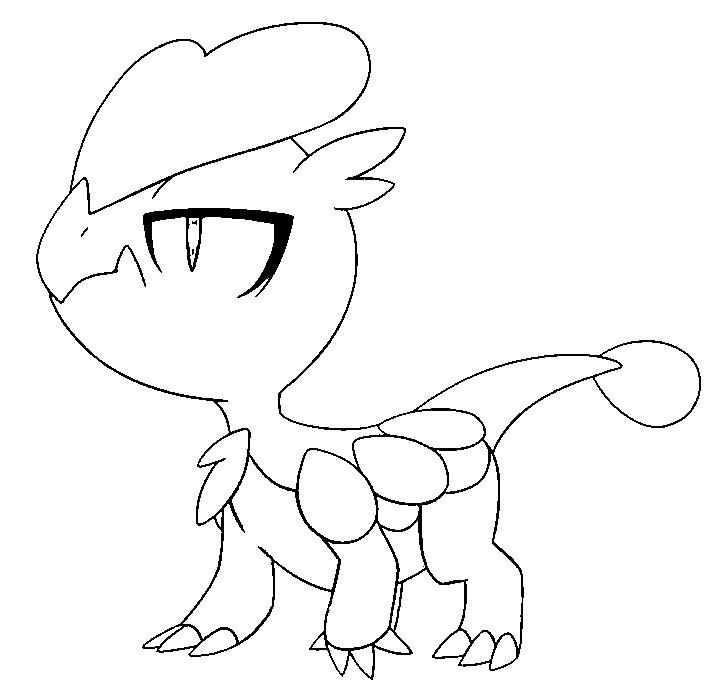 coloriage pokemon Bébécaille