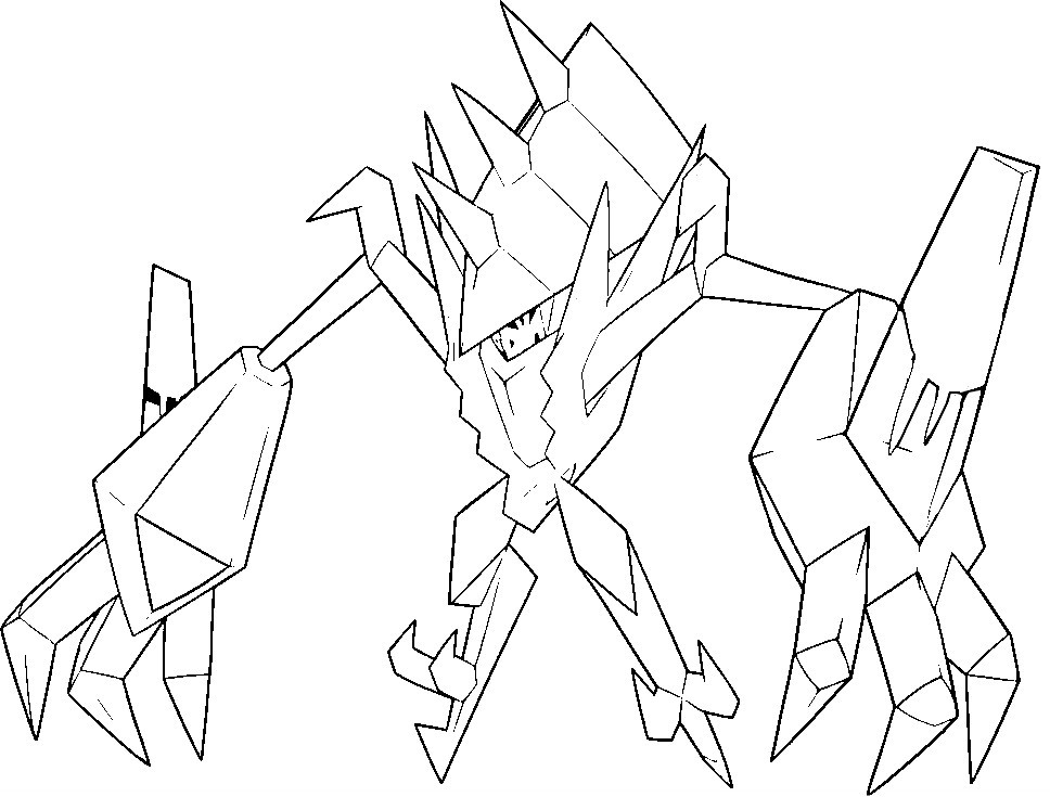 coloriage pokemon Necrozma