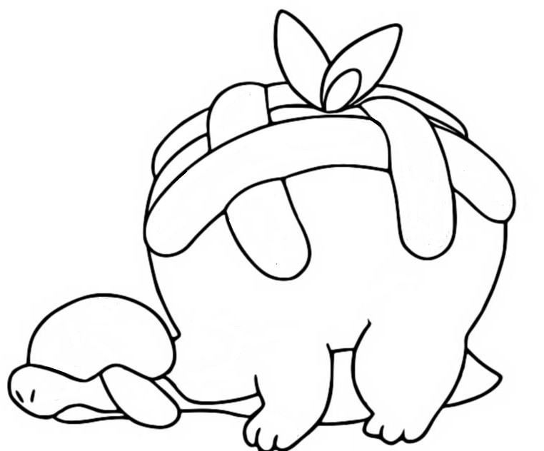 coloriage pokemon Dratatin