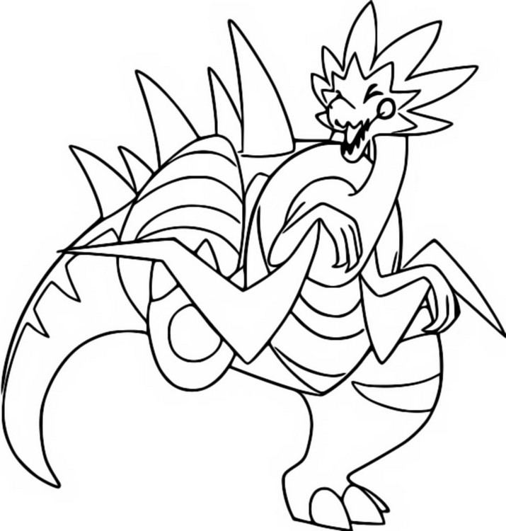 coloriage pokemon Galvagon