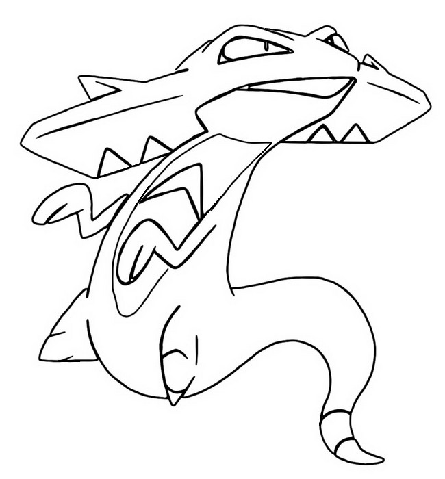 coloriage pokemon Dispareptil